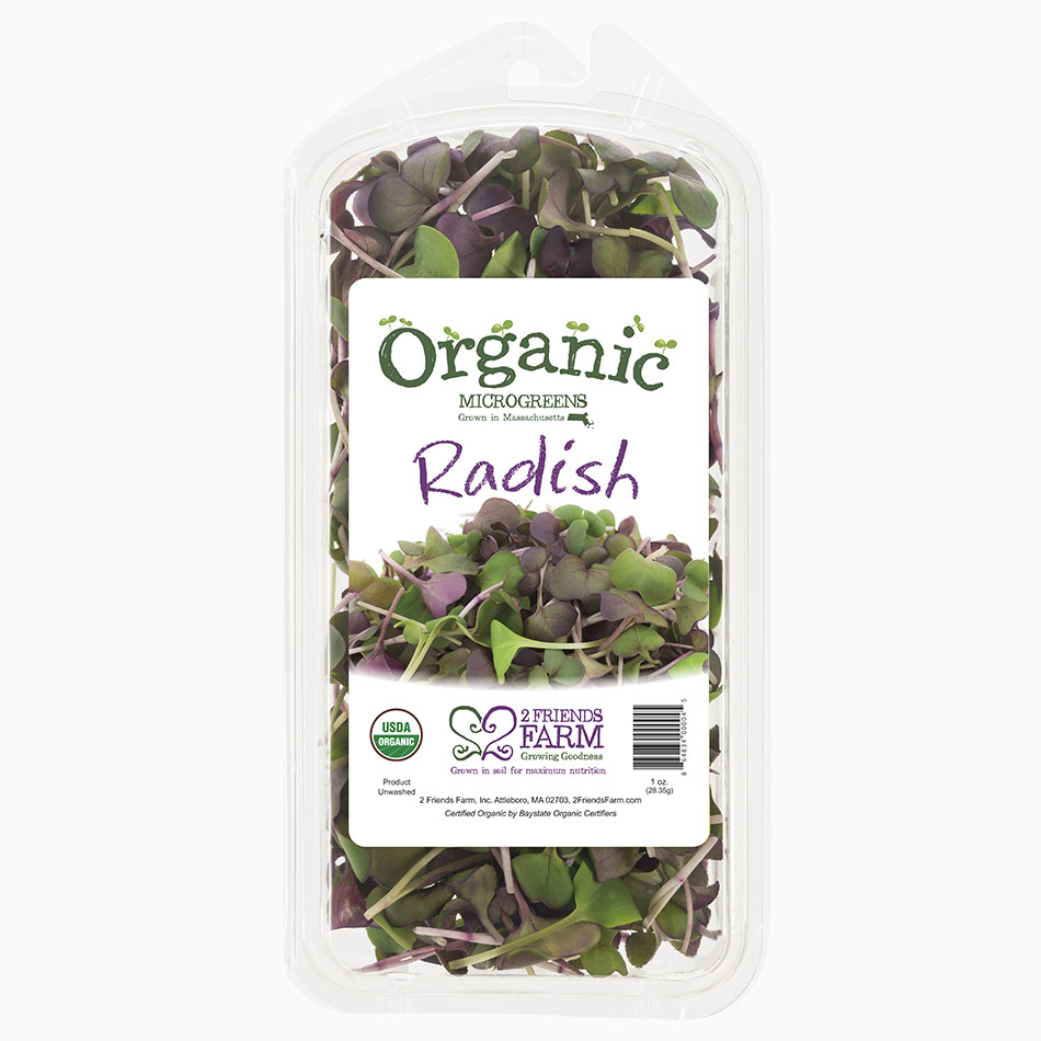 Radish Sprouts – certified organic micro-greens
