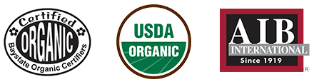 Certified organic soil grown microgreens herbs for chefs and restaurants